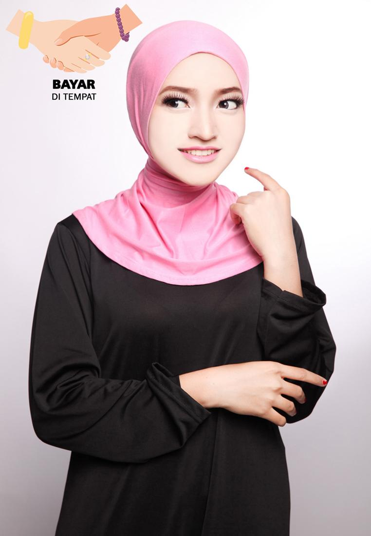 Ciput Hijab Inner Antem Sleting - Dusty Pink