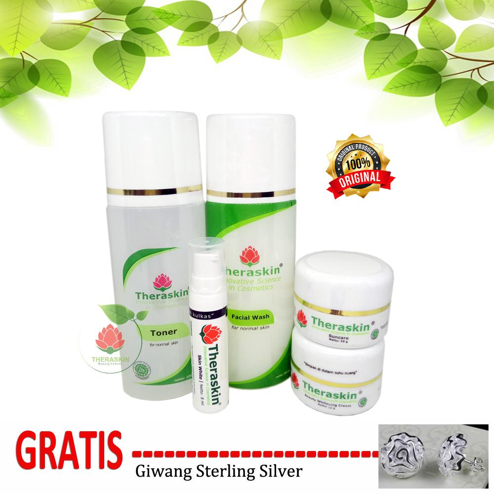 Kelebihan Theraskin Beauty Center Paket Cream Glowing Step 3 Gratis And Whitening For Normal Skin 2