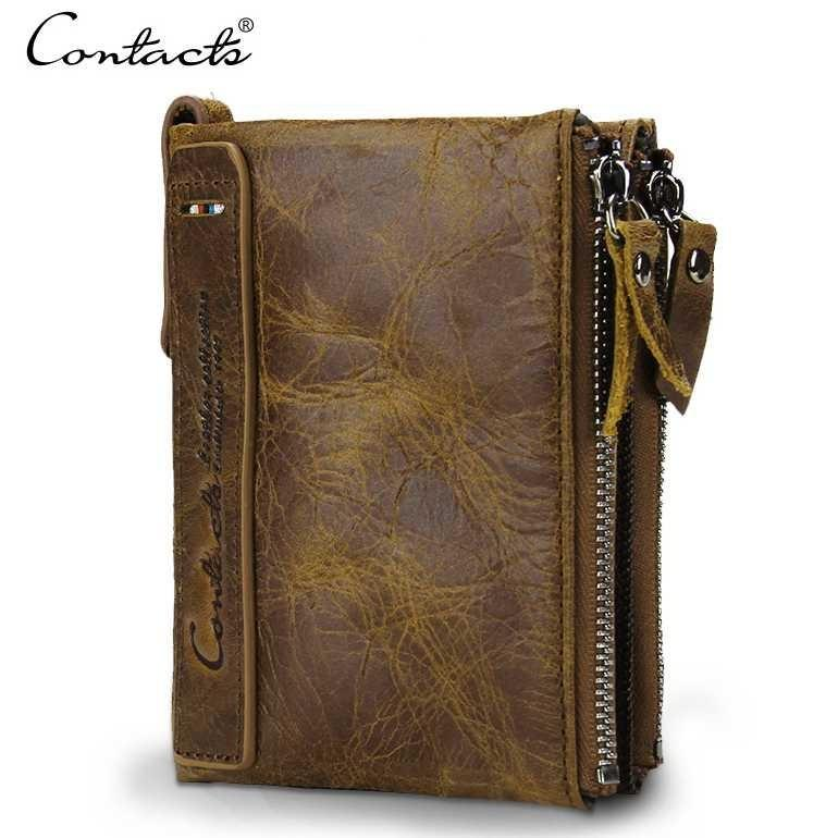 Contacts Dompet Kulit Pria | Dompet Kulit Import Pria Branded | Luxury Wallets | Downpet Cowok Stylish Trendy