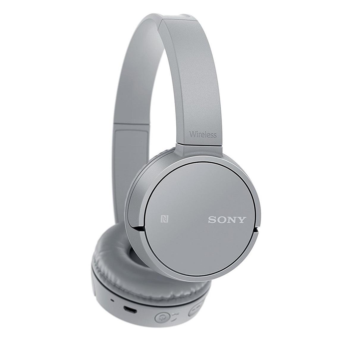 Detail Gambar Sony MDR WH-CH500 / WH CH500 / CH 500 Wireless Headphones - Grey Terbaru
