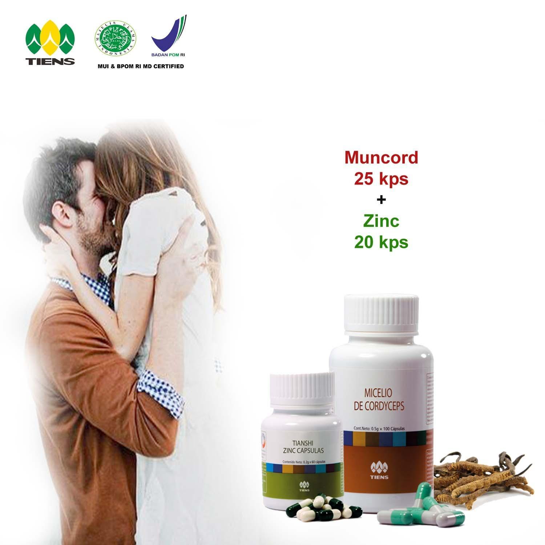 Beli Hemat Harga Diskon Obat Kuat Pria Tiens Zinc Muncord Original Herbal Alami Tanpa Efek Samping Jakarta