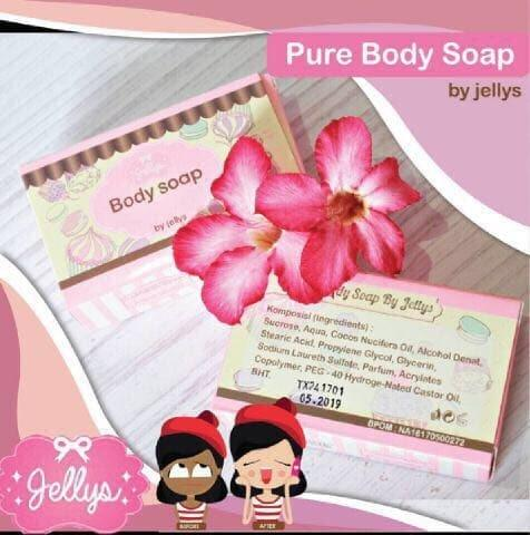 New-Jellys Pure Soap by Jellys - Original PURE SOAP BPOM BY JELLYS / PURE