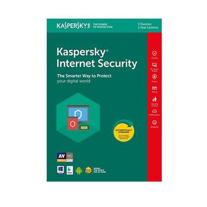 Beli Kaspersky Internet Security 3 User Kis 3 Online Terpercaya