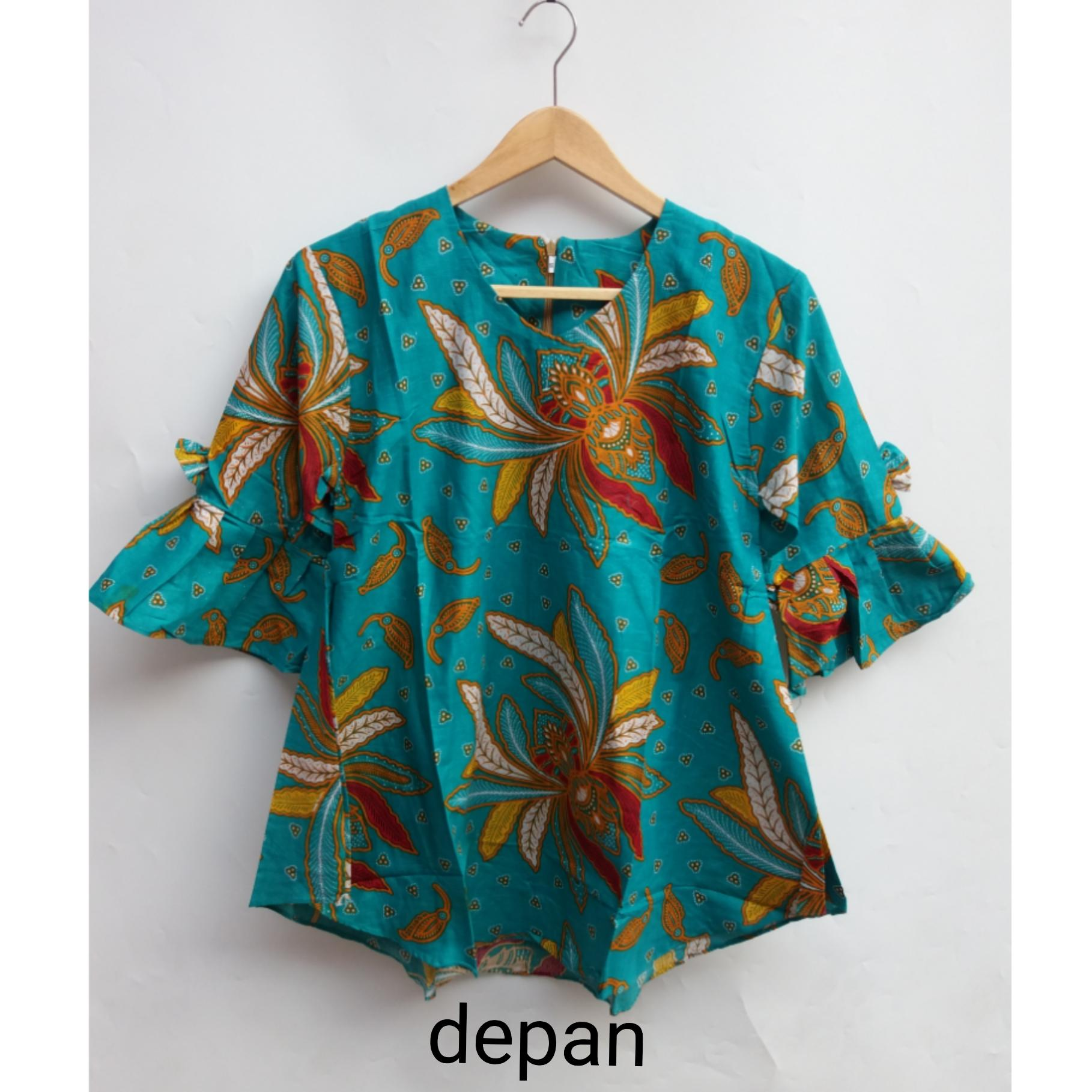 Review Blouse Baju Batik Blouse Batik Blouse Batik Trendy Blouse