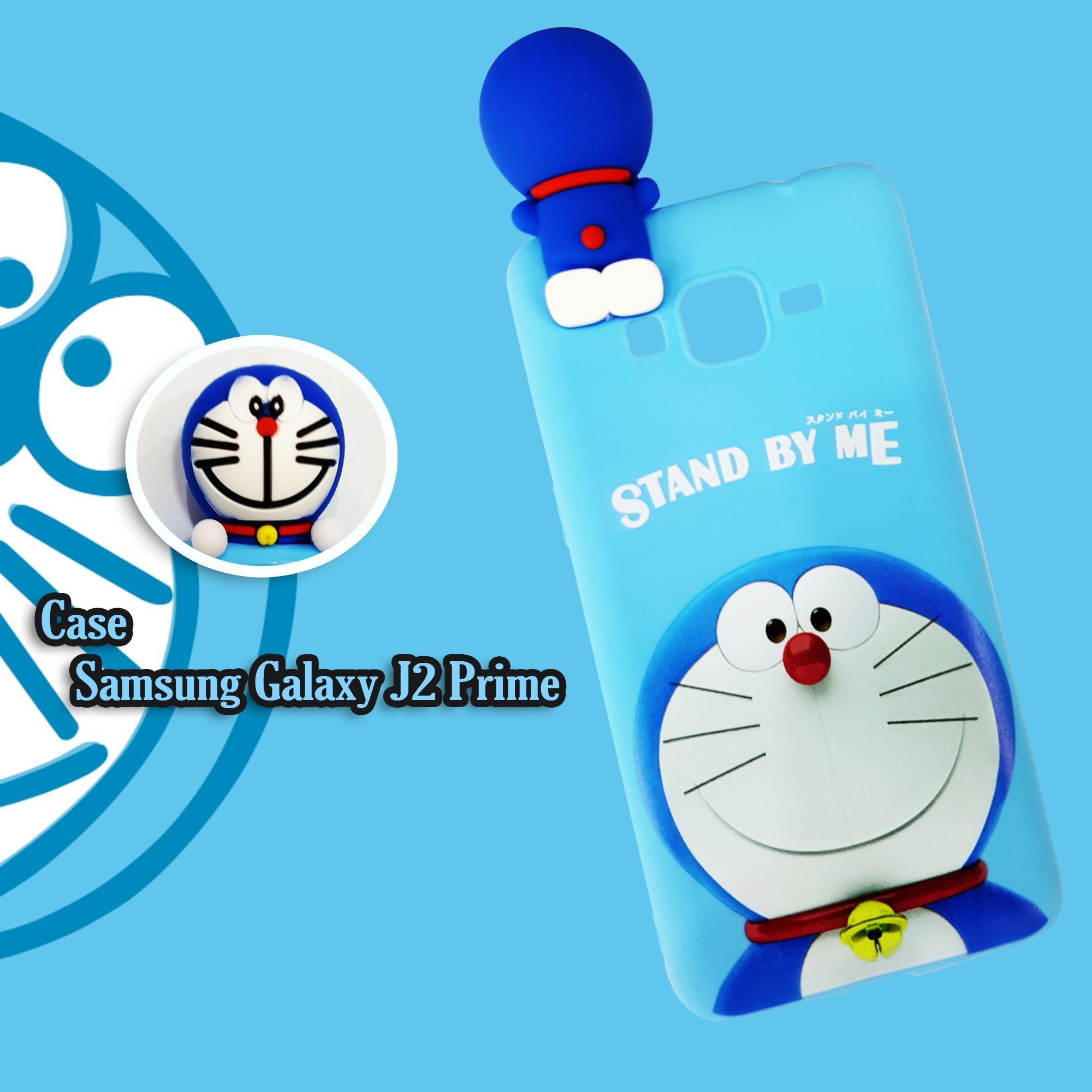 Kehebatan Intristore New Doraemon Fashion Soft Sillicon Phone Case Softcase Silicon 3d Kartun Mungil Lucu Samsung Galaxy J2 Prime Standbye Me For