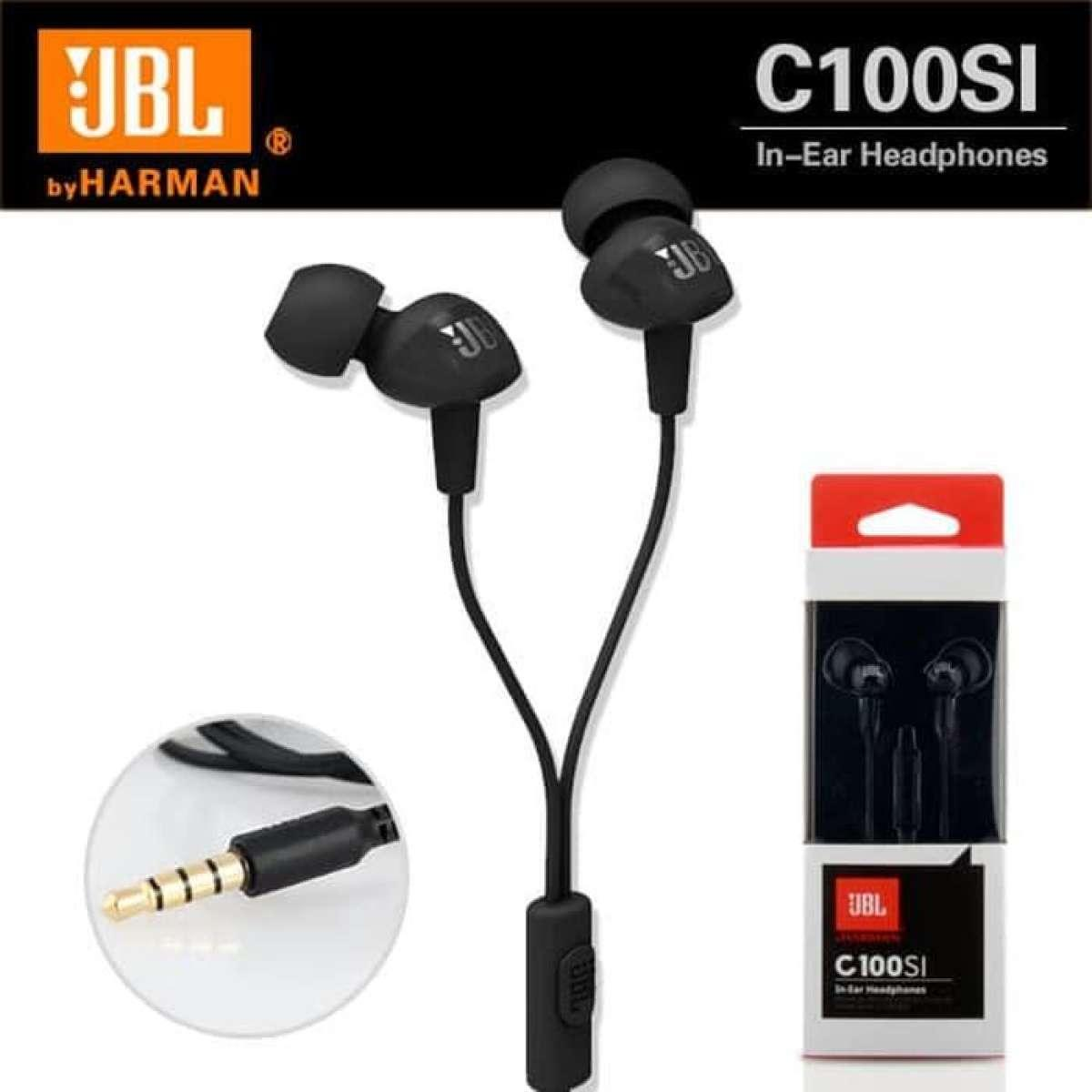 Headset JBL C100SI ORIGINAL Special One In-Ear Headphones with Mic