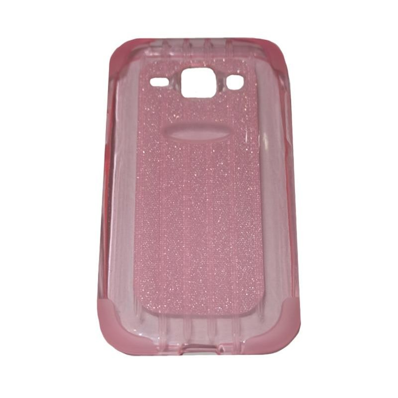 Kehebatan Hardcase Bumper For Samsung Galaxy E5 Silver Dan Harga