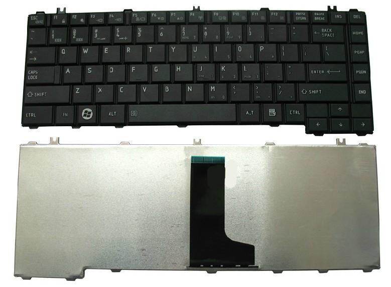 TOSHIBA Original Keyboard Notebook Laptop C600 C605 C640 L600 L630 L635 L640 L640D L645 L645D GLOSS