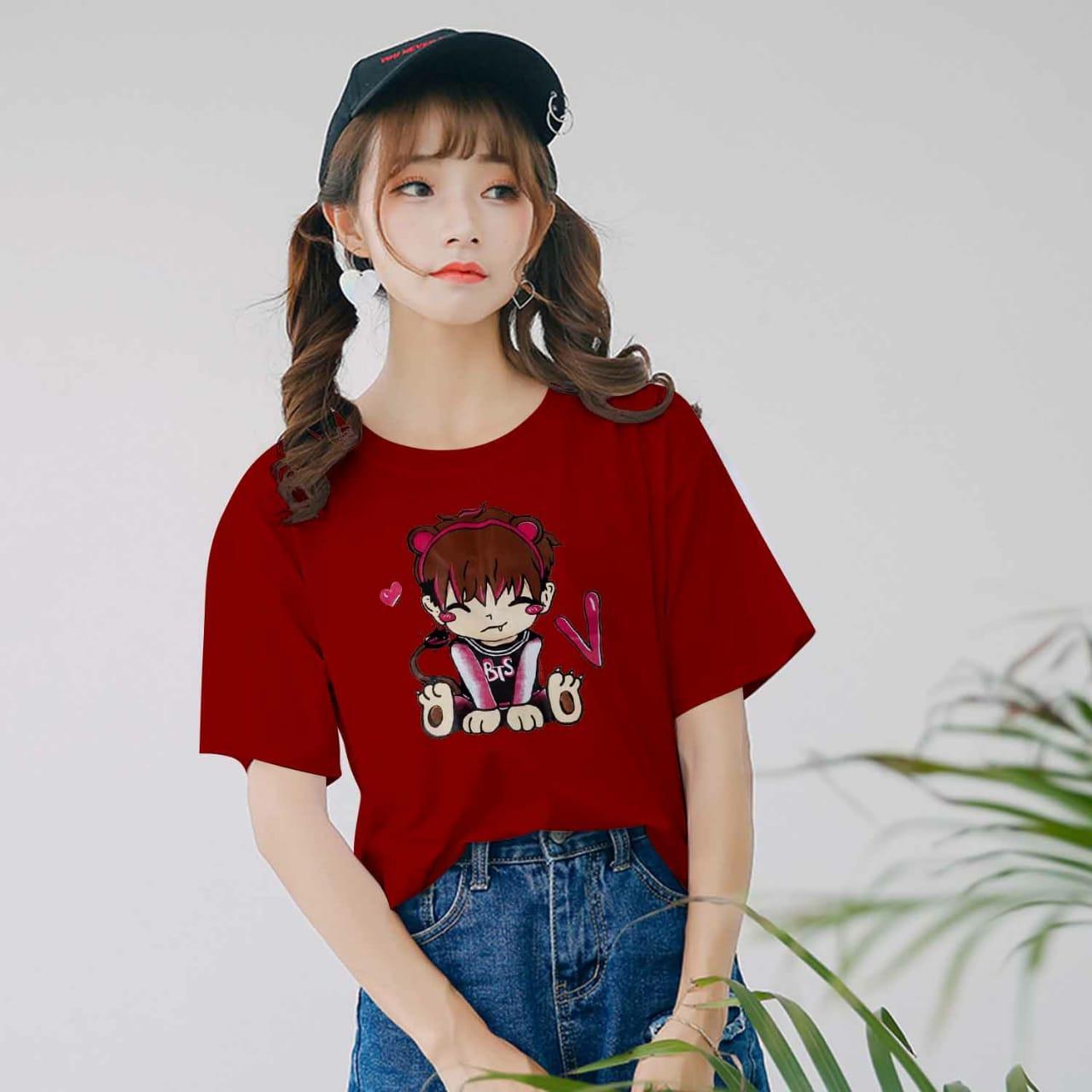Vanessa Tumblr Tee / T-Shirt BTS CHUBBI / T-shirt Wanita / Kaos
