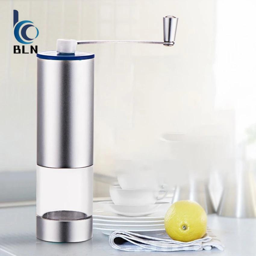 Jual 【Bln Home】Manual Portable Aluminum Coffee Grinder Size L Not Specified Original