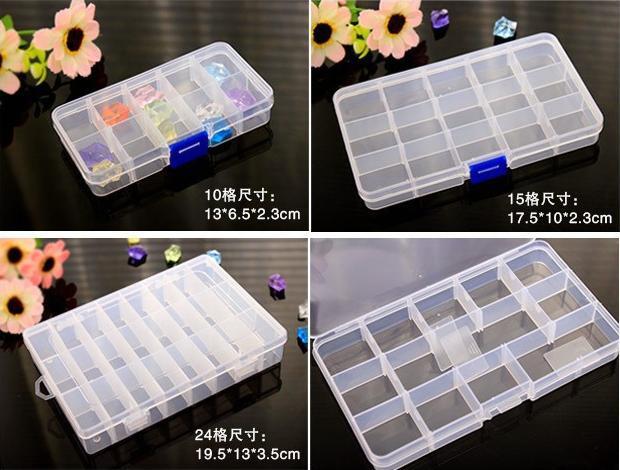 ... TOKO49 - Kotak Penyimpanan Plastik Mini (5*2 Kotak) - 5