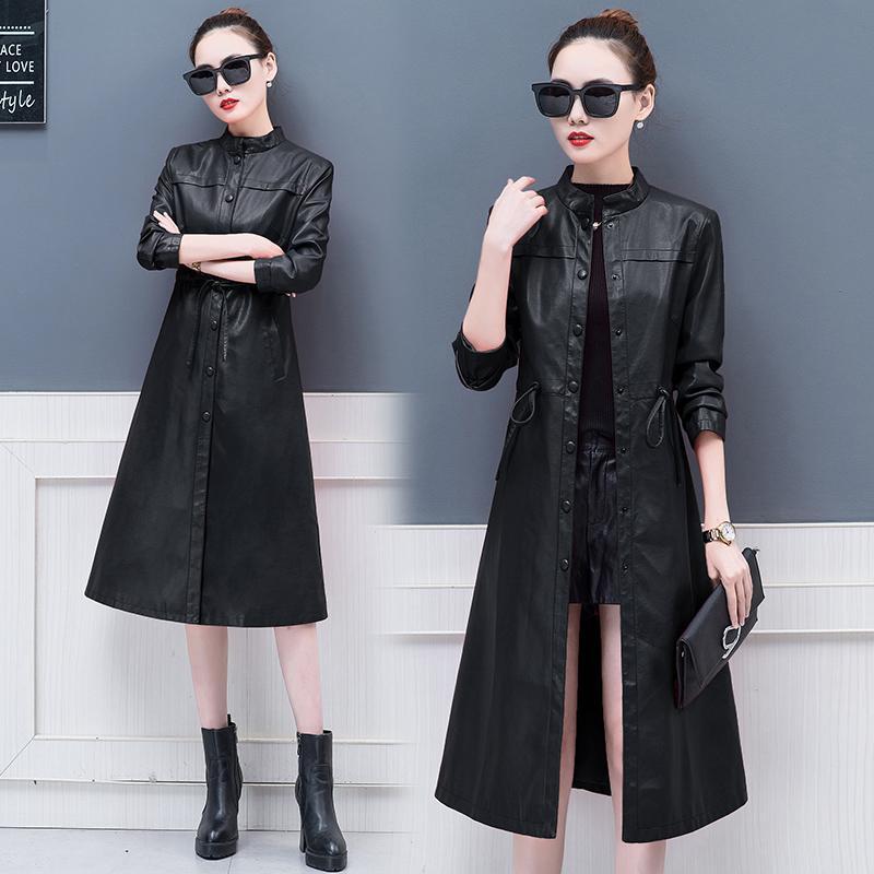 2018 model baru Haining kulit asli baju kulit wanita model setengah panjang Gaya Korea domba Jaket