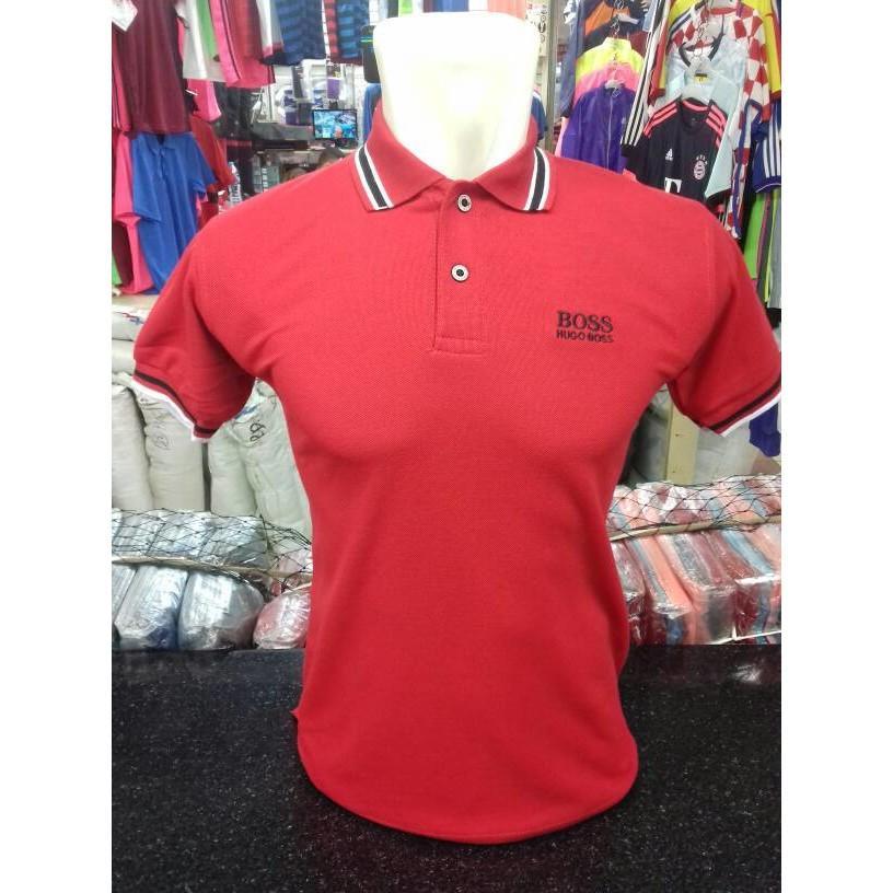 Polo Shirt Hugo  Kaos Kerah Pria - 1Txldn