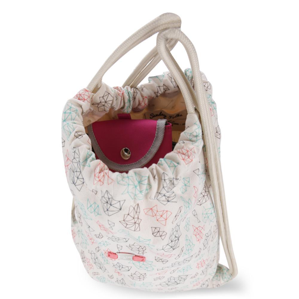 ... Exsport Chills Drawstring Bag - Cream - 5