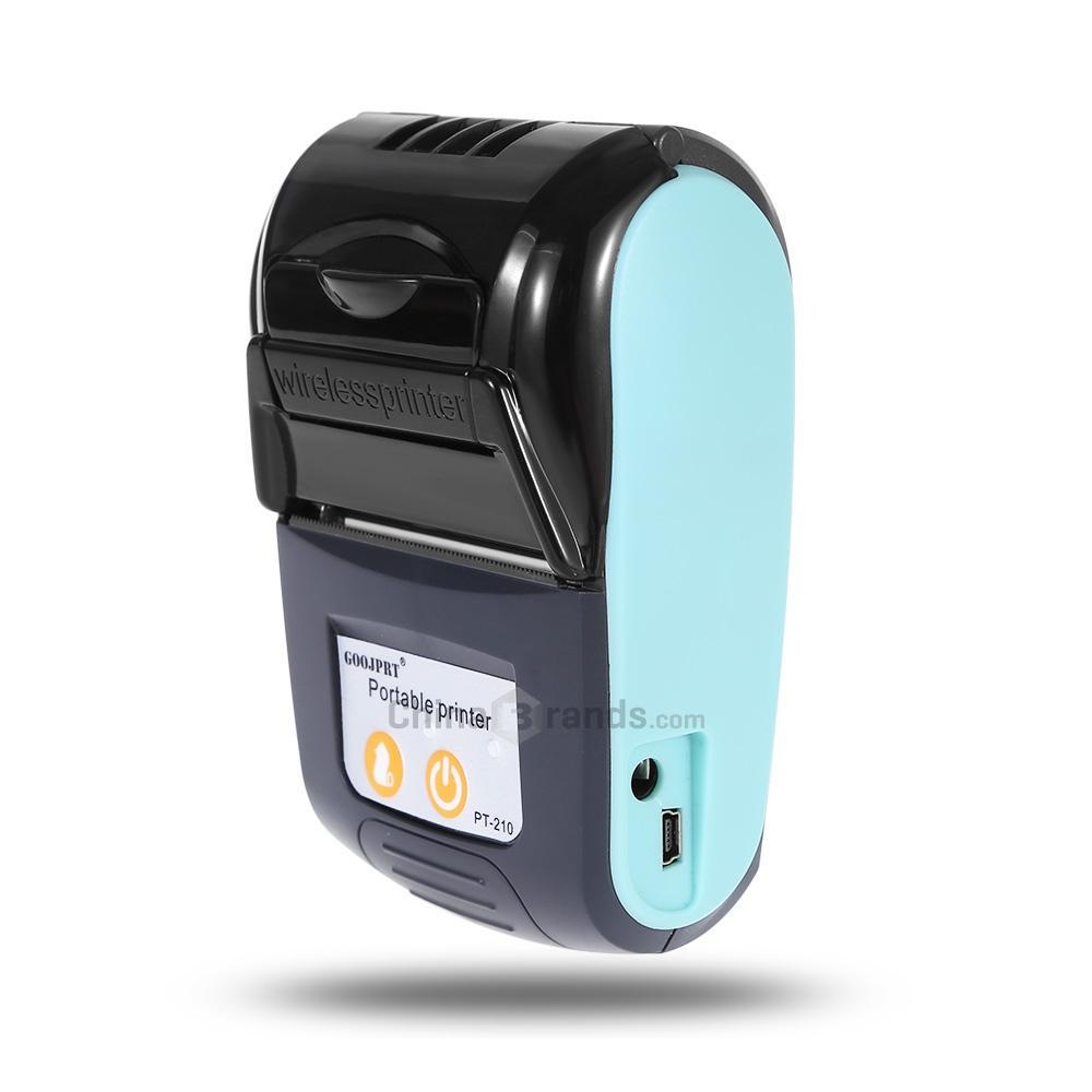 Fitur Mini Portable Bluetooth Thermal Receipt Printer Kasir Ppob Zjiang 5807 Detail Gambar 58mm Terbaru