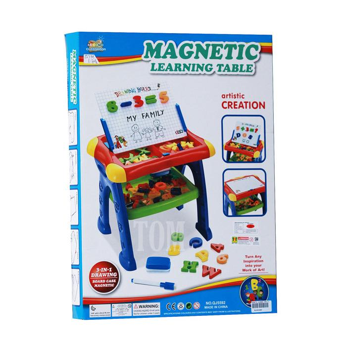 Mainan Edukasi Meja Belajar Magnetic Learning Table No.QJ5592