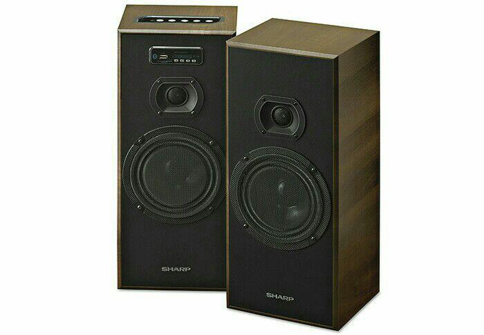 SPEAKER AKTIF SHARP CBOX625 UBO FM RADIO USB BLUETOOTH