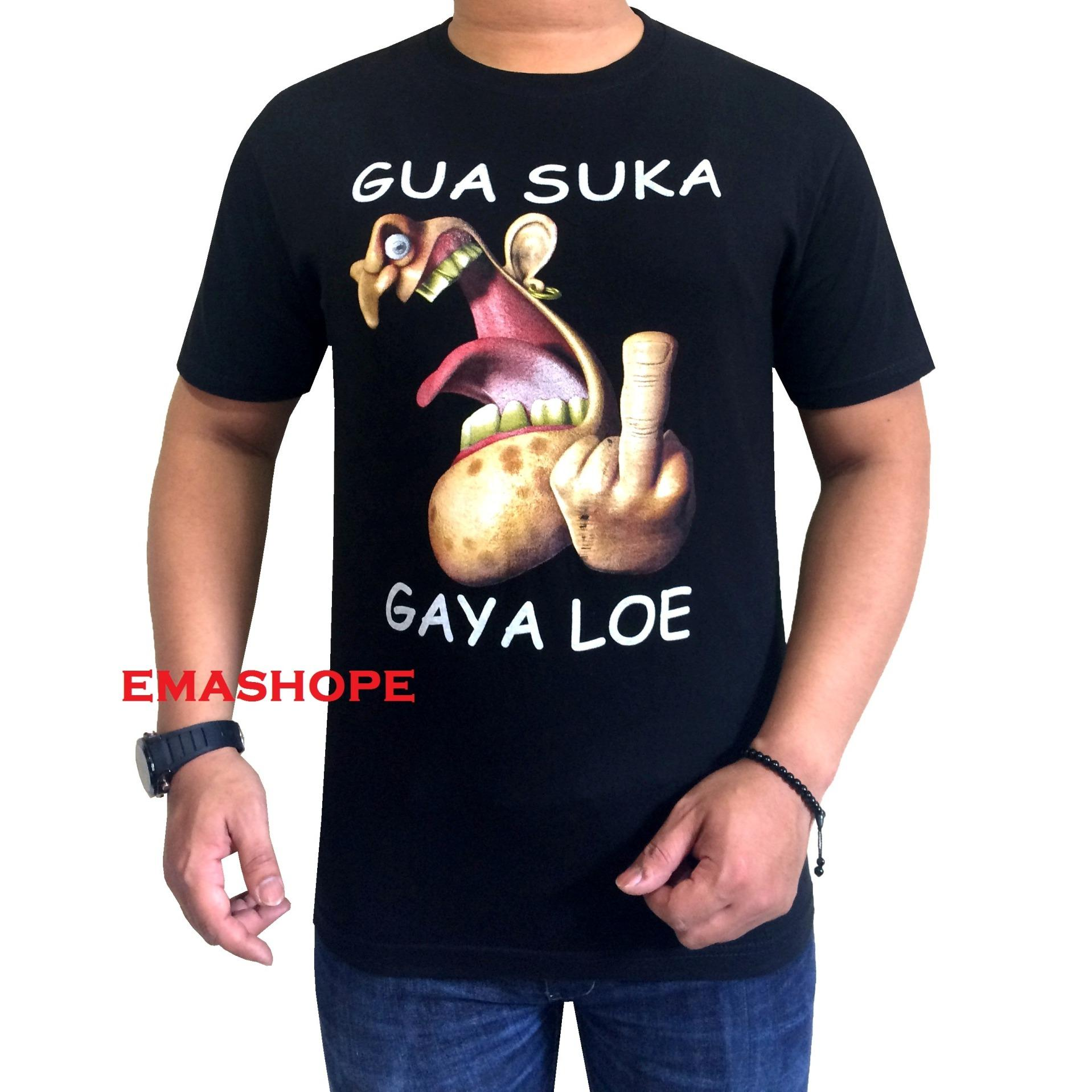 Cek Harga Baru Ema Shope Kaos Distro T Shirt Distro Atasan Pria