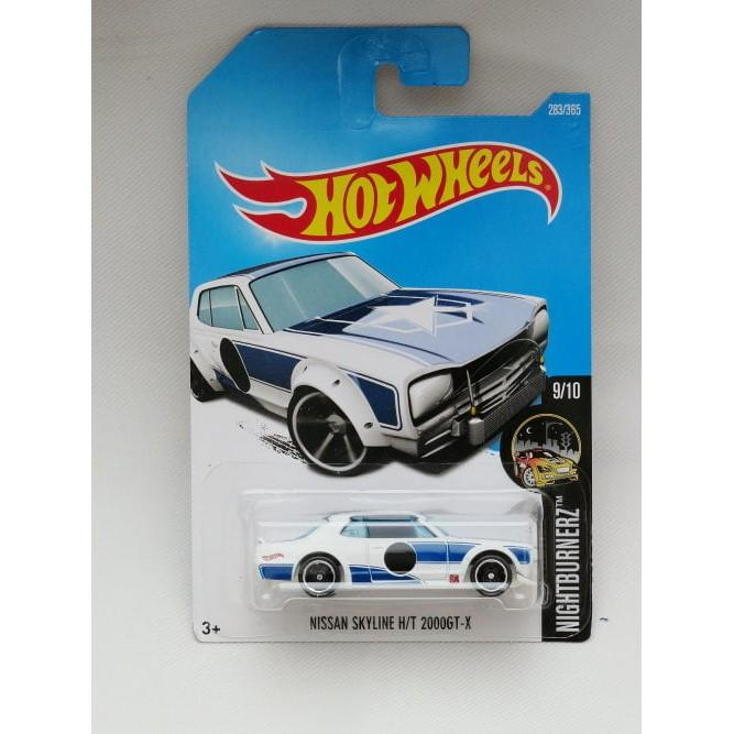 Hot Wheels Nissan Skyline 2000 Gtx - Putih - M3lblt