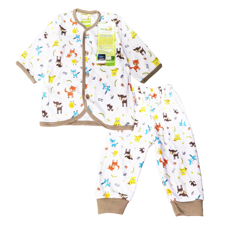 Fitur Setelan Panjang Baju Tidur Piyama Velvet Junior Xl 18 24 Month Sml My Deer Newborn
