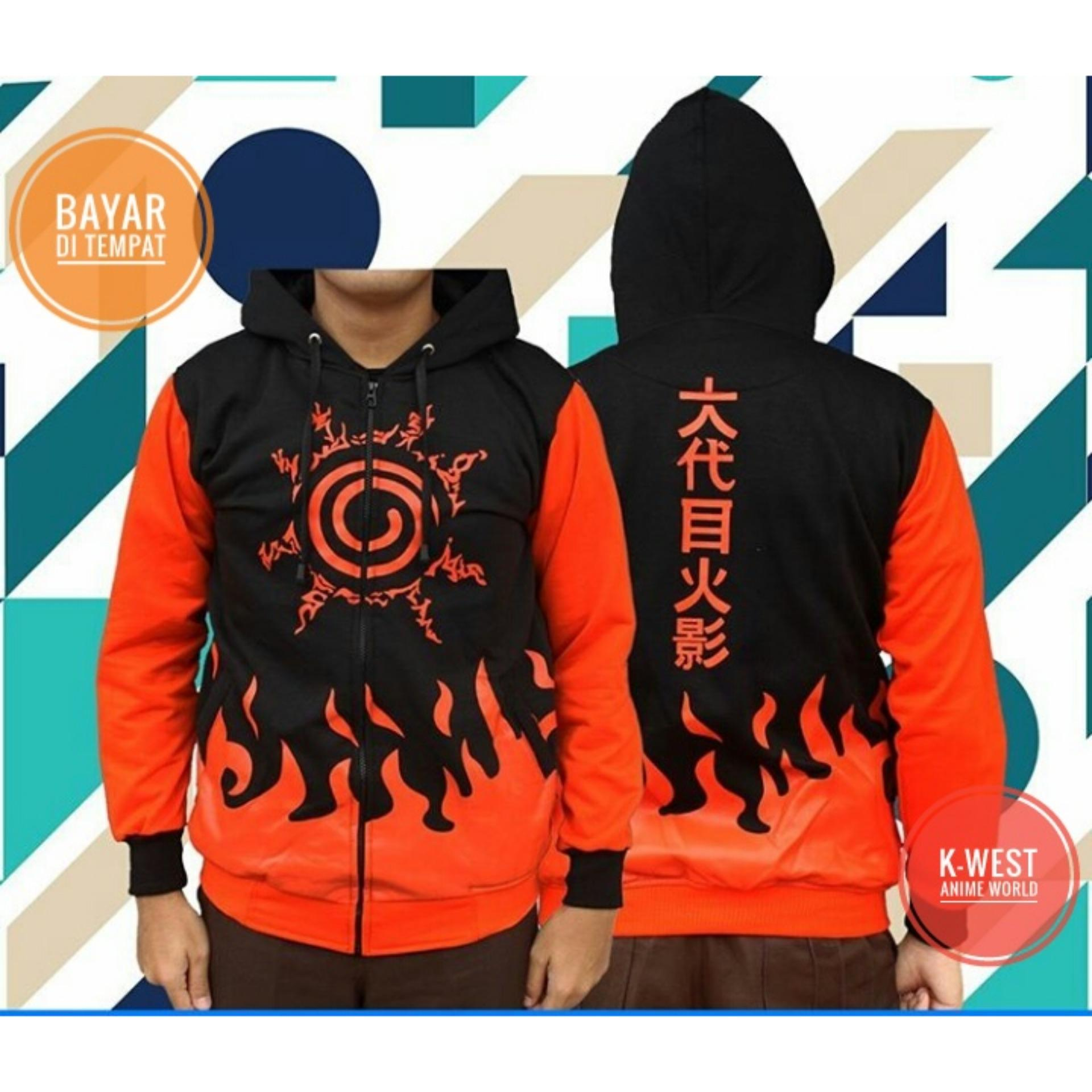 Toko Jaket Anime Naruto Seal Mode Hoodie Best Seller Terlengkap Indonesia