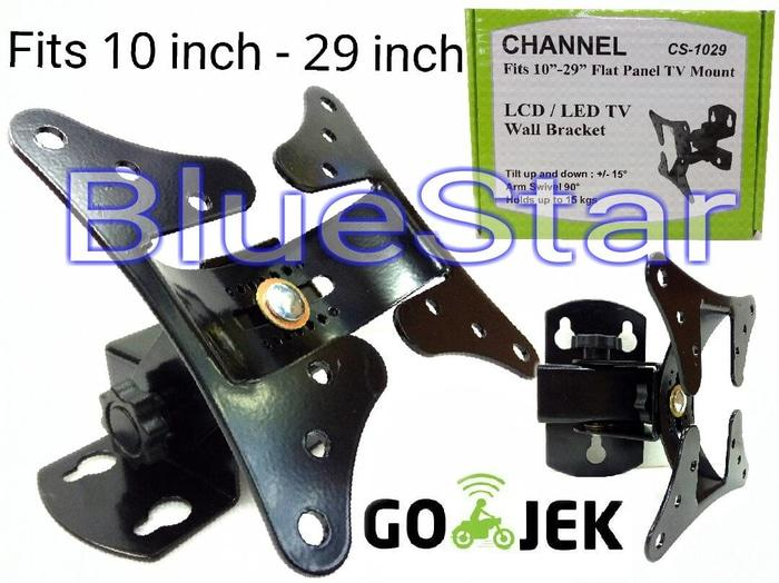 ORIGINALS  Bracket Dinding TV LCD LED 10 inch 14 inch 19 inch 24 inch 29 inch