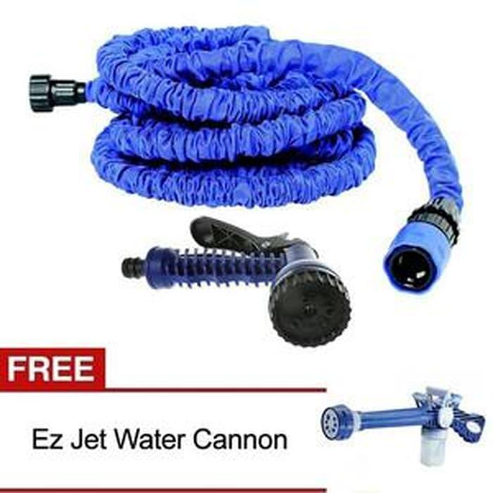 EZ JET WATER CANON + Selang magic 15 m