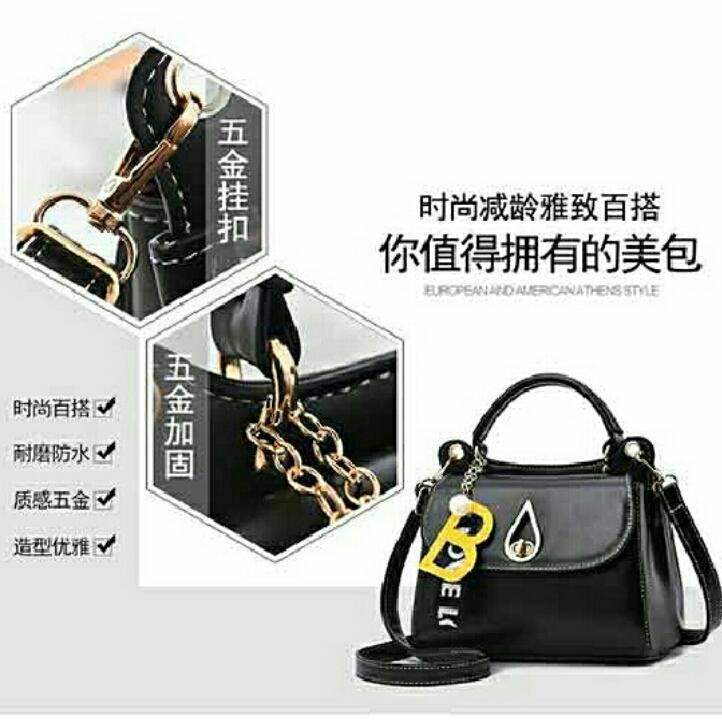 1ST-5041 Handbag Import Stylish Korean Style + Free Gantungan Tas -