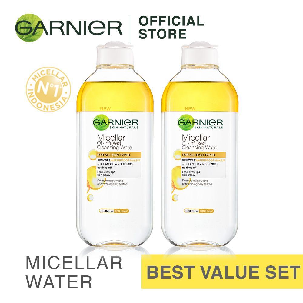 Spesifikasi Garnier Micellar Water Biphase 400 Ml Beli 2 Lebih Hemat Dan Harganya