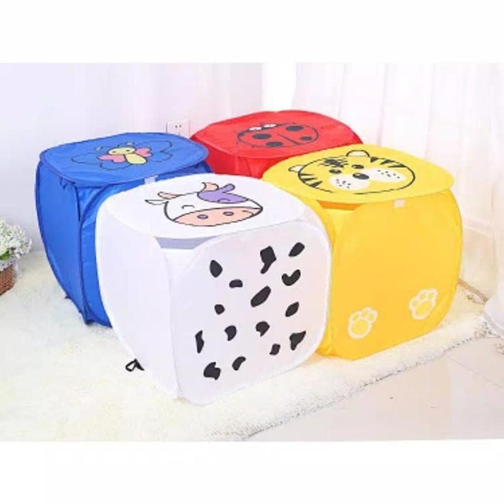 Anabelle Keranjang Laundry Jumbo Model Kotak New Karakter Keranjang Baju Keranjang Baju Kotor Keranjang Pakaian Keranjang Cucian Keranjang Jaring Keranjang Karakter Lucu Keranjang Cucian Baju Kotor Lipat Kartun  Laundry Basket