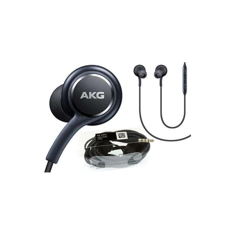 Handsfree samsung Galaxy S8 By AKG / Jack 3.5MM / Black /