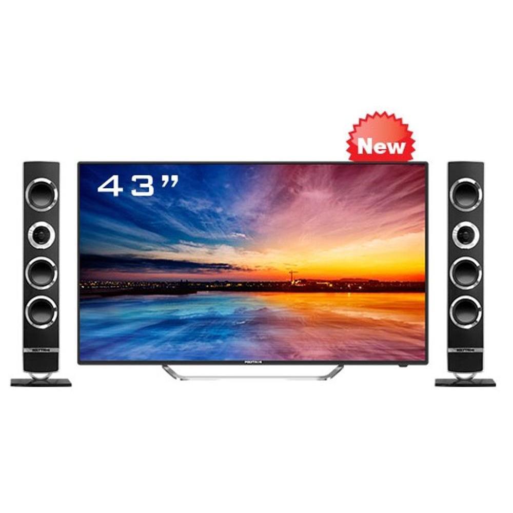 Polytron Cinemax Pro PLD 43TS865 TV LED - Hitam