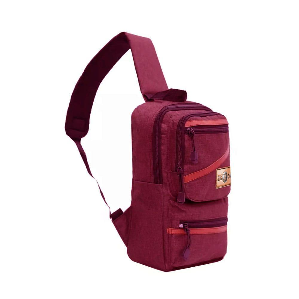 Detail Gambar Zig zag bag Tas Selempang Pria Sling Bag Waistbag AA00022 -10  ZV Single 712070ee8a