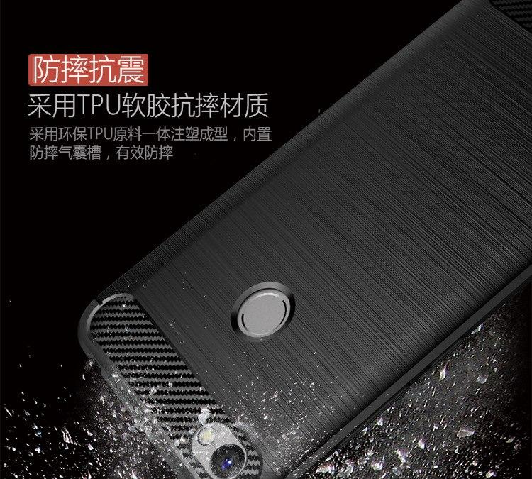 4 Interesting Softcase Ipaky Carbon Fiber Shockproof Hybrid Case for Xiaomi  Redmi Note . 5865896546