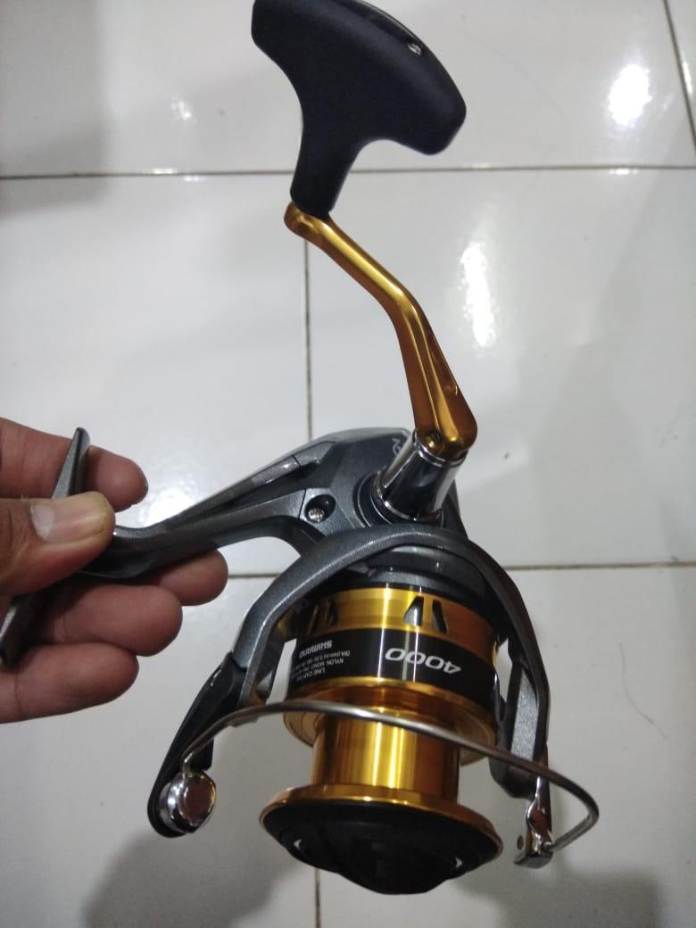 Features Reel Spinning Shimano Sedona Xt 4000 4 Bearings Max Drag 11 Blood Himax Kg 3