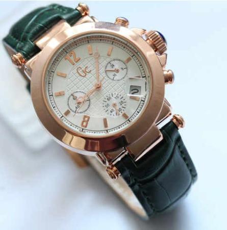 jam tangan wanita Jam Tangan GC Guess Collection Chrono Kulit GC001 Jam  Tangan Murah 032c52a652