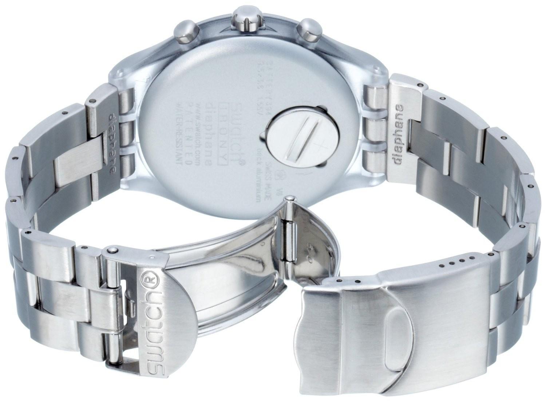 Swatch Yos455g Blue Maximus Chronograph Tachymeter Jamtangan Pria Jam Tangan Original Yvs431 Destination Roma Detail Gambar Svck4038g Full Blooded Silver Analog