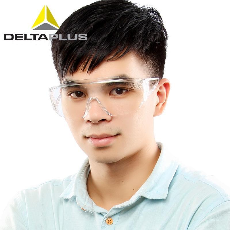 Deltaplus kacamata pelindung anti debu pasir kacamata pelindung Luar rumah Bersepeda kacamata tahan angin perlindungan UV
