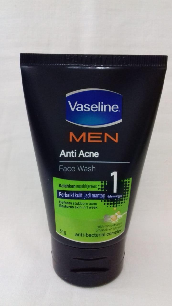 Review Dan Harga Ponds Men Energy Charge Facial Wash 50 Gr Jual Acne Solution Gel 20 Vaseline Anti Face Gram