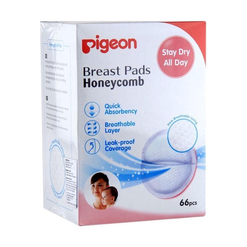Ulasan Pigeon Breast Pad Honeycomb 66 Pcs
