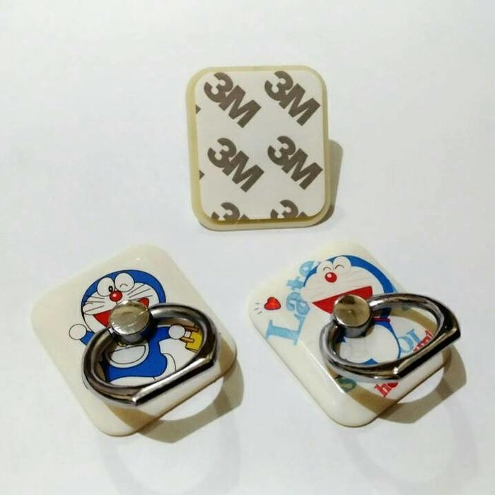 Gambar Produk Rinci iRing Karakter With Hook 7STAR iRing Mobile Ring Stand Karakter Doraemon - Random Terkini