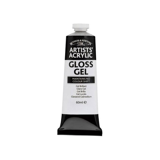 TERMURAH Winsor & Newton Artists' Acrylic Gloss Gel 60ml Alat Seni Lukis