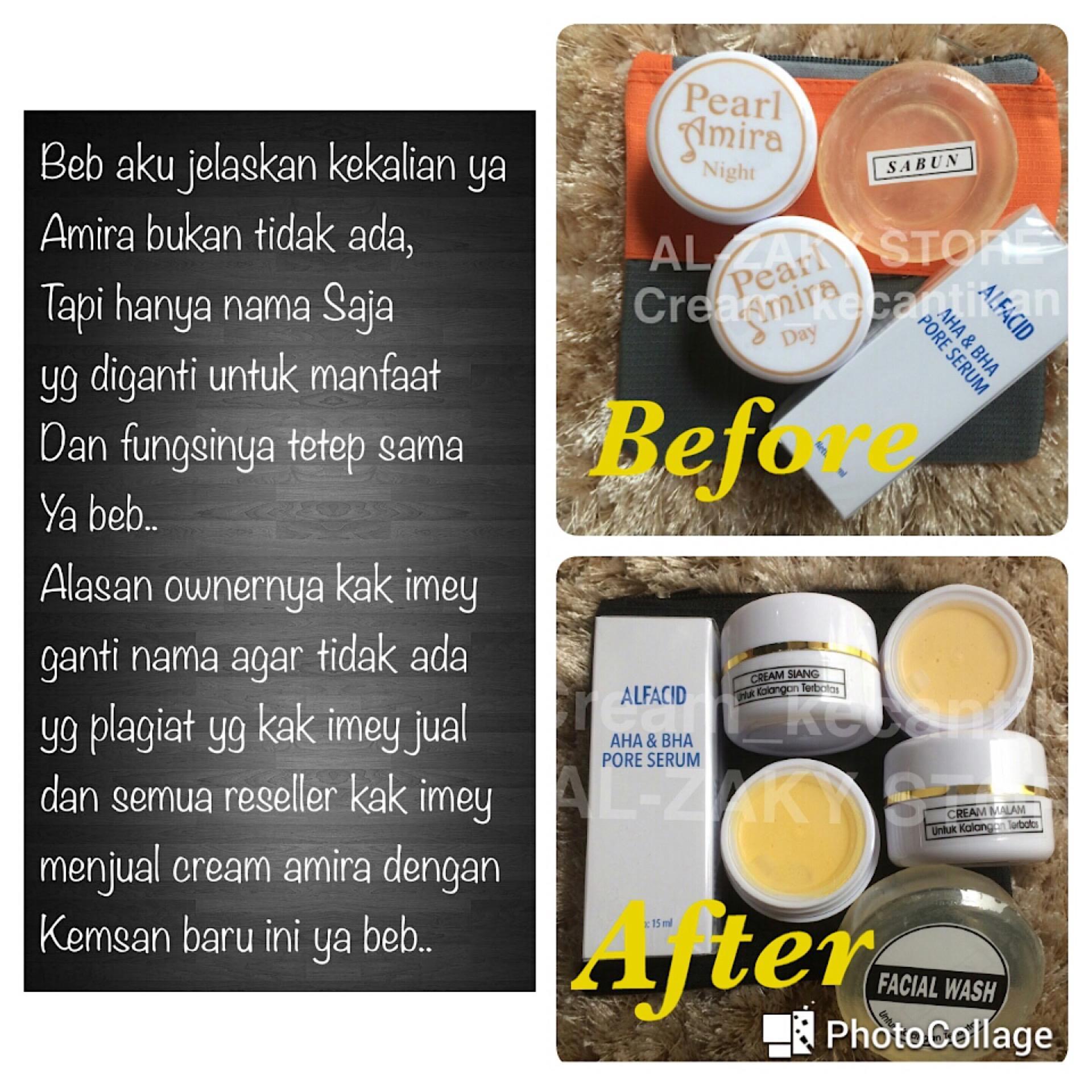 Cek Penjualan New Cream Amira Glowing Shining Sabun Batang Reseller Glansie Skincare Paket Normal Serum Aha Kak Imey
