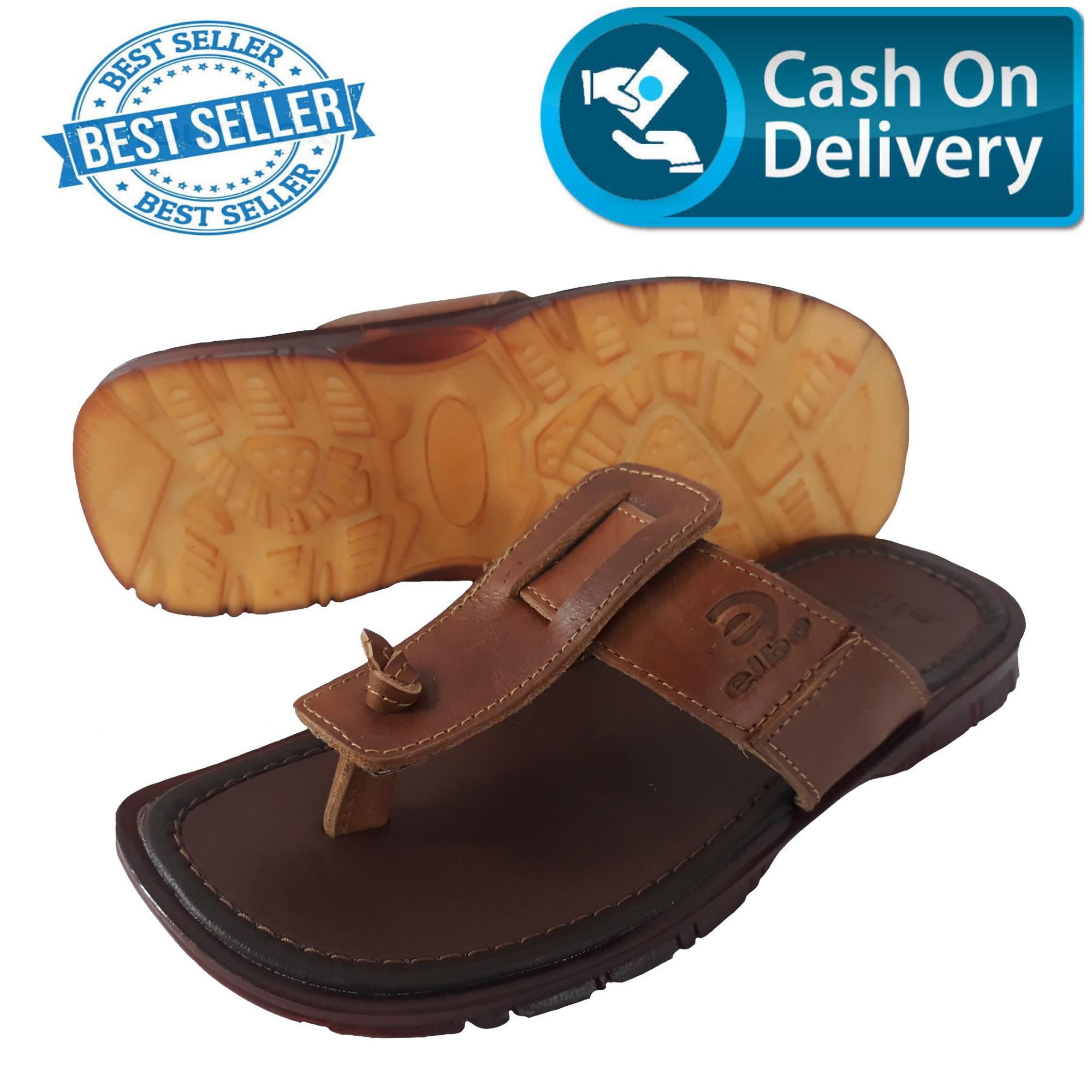 Sandal Kulit Pria / Sandal Pria Kulit Sapi Asli / Sandal Kulit Sapi Asli Model Japit