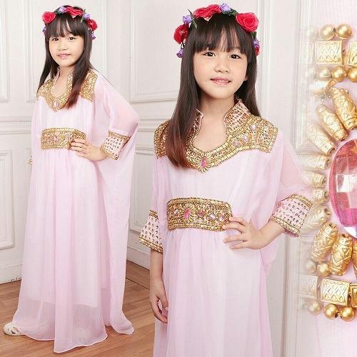 SM Grosir SM4011 Baju Muslim / Bahan Premium / Setelan Anak-anak / Kaftan Anak / Kaftan Kekinian / Modern Kaftan / Kaftan Mani-manik