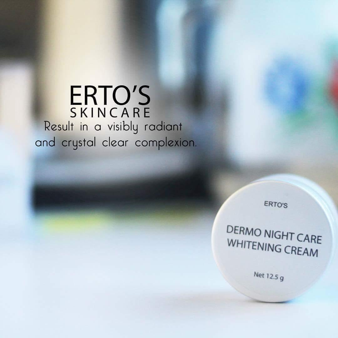 Ertos Night Cream Whitening - Krim Malam Ertos BPOM - 2 ...