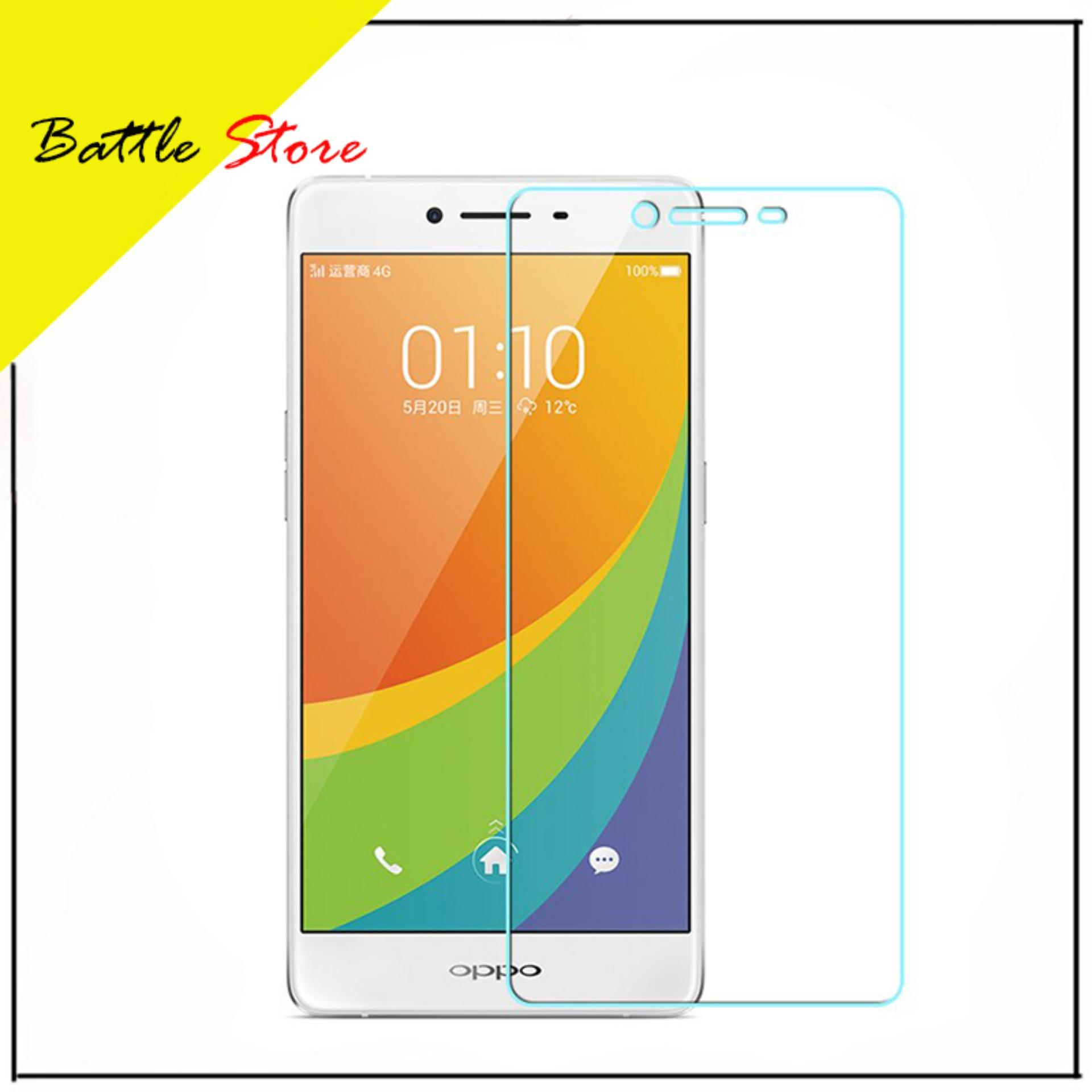 Oppo R7s Smile Screen Protector Tempered Glass / Anti Gores Kaca - White Clear