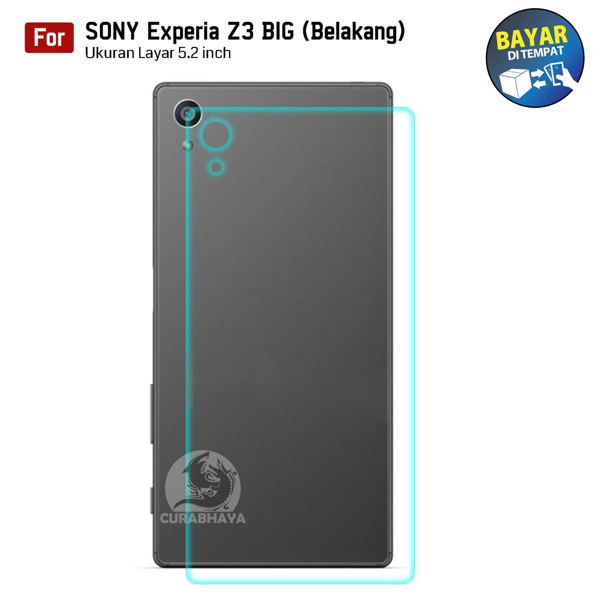 Kong Tempered Glass Sony Xperia Experia Z3 BIG (Back / Belakang) / Docomo /
