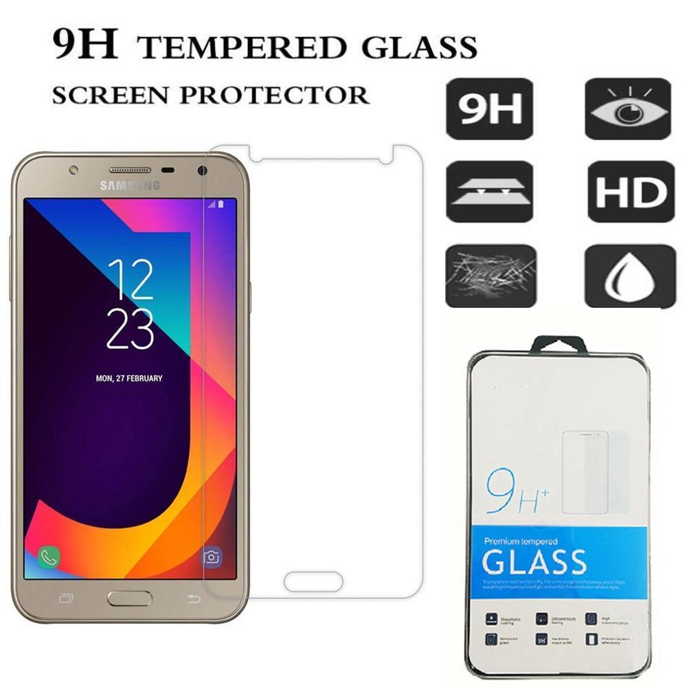 Icantiq Temper Glass Samsung Galaxy J7 Core Ukuran 5.5 Inch Tempered Glass Samsung Galaxy J7 Core Anti Gores Kaca 9H / Pelindung Layar / Screen Guard Samsung Galaxy J7 Core / Temper Samsung J7 Core /  Temper Kaca / Pelindung Layar Kaca - Transparant