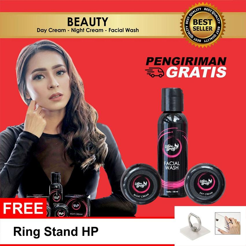 Diskon Best Seller Aura Beauty Cream Pemutih Wajah Glowing Whitening Aman Bpom No Mercury Original Aura Beauty